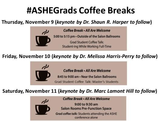 ASHE 17 Coffee Break Slide